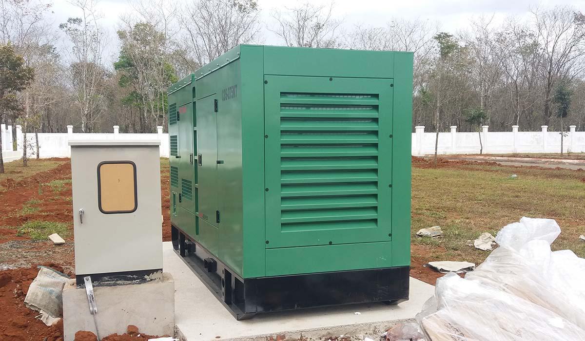 đấu nối máy phát điện và tủ chuyển nguồn tự động ATS 600A