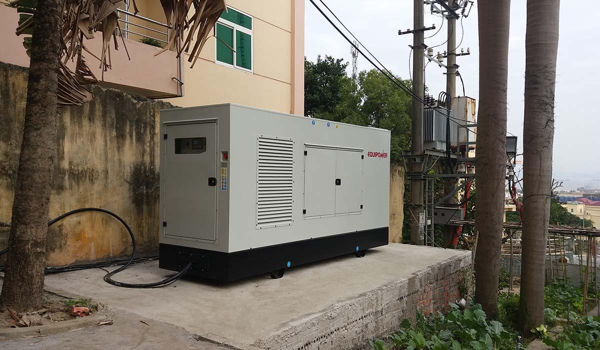 Tổ máy phát điện EQUIPOWER 250kVA IVS-275T