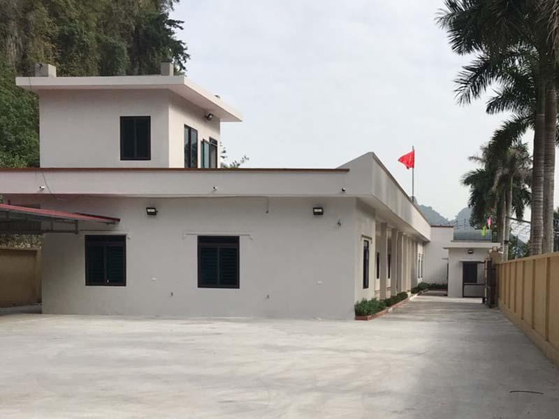 Văn phòng xí nghiệp tại tỉnh Quảng Ninh
