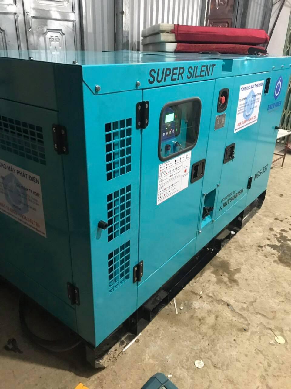 Đấu nối máy phát điện Mitsubishi 50kVA với hệ thống phụ tải