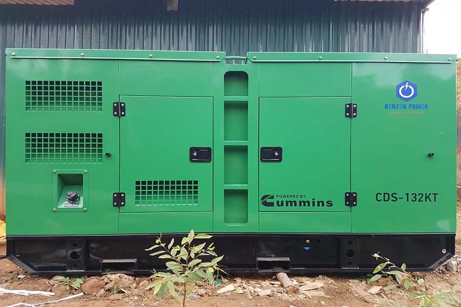 Máy phát điện Cummins 120kVA tại Lào Cai
