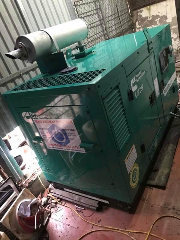 Quá trình đấu nối máy phát điện Cummins Ấn Độ 20kVA với hệ thống phụ tải