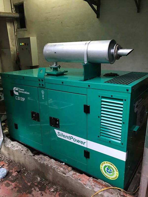 Máy phát điện Cummins Ấn Độ 20kVA