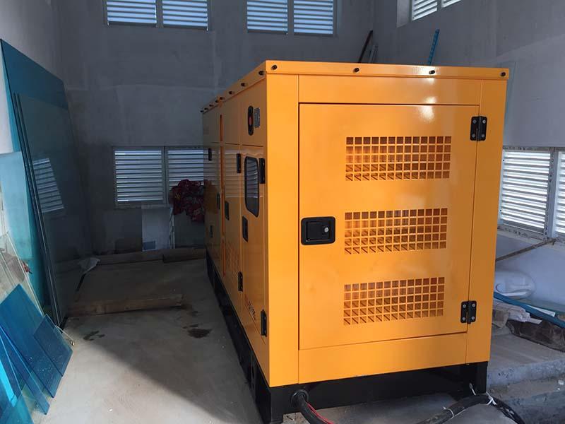 Đấu nối máy phát điện Kofo 90kVA với hệ thống phụ tải