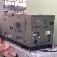 Lắp đặt máy phát điện Mitsubishi 30kVA