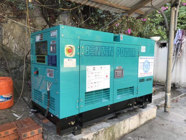 Máy phát điện chống ồn Kubota - Dự án lắp đặt tại Quảng Ninh