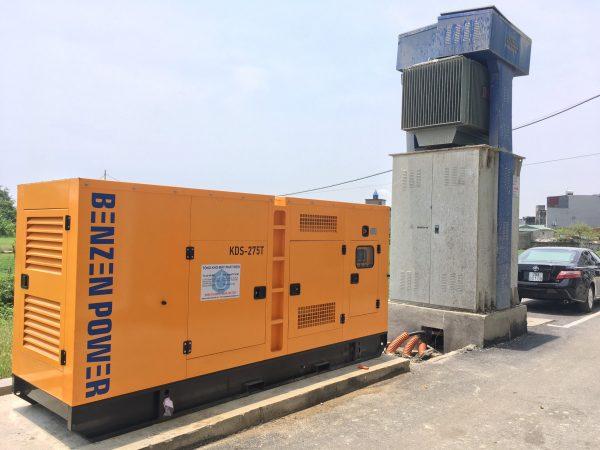 Máy phát điện chạy dầu 3 pha 250kVA
