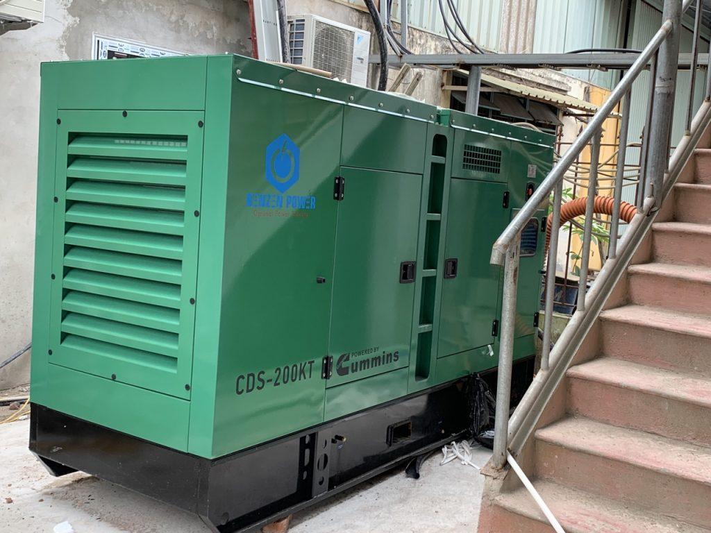 máy phát điện 3 pha cummins 188kVA Hưng Yên