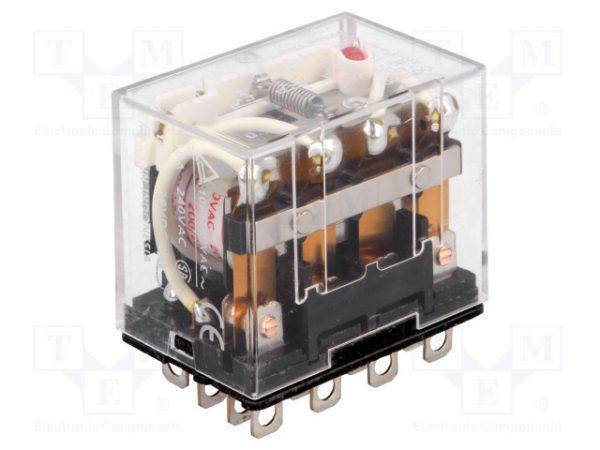 Role điện từ được sử dụng trong mạch điểu khiển tủ ATS