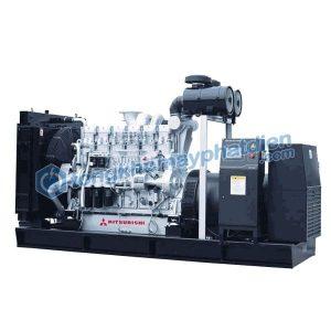 Máy phát điện 3 pha Trung Quốc Mitsubishi công suất 700kVA