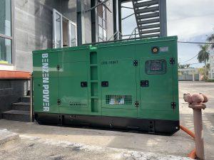 Máy phát điện Cummins tại Tổng kho máy phát điện