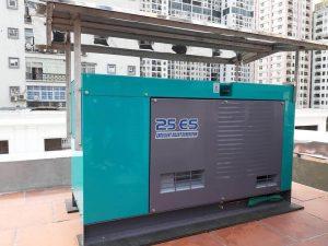 Máy phát điện Denyo Nhật Bản tại Tổng kho máy phát điện