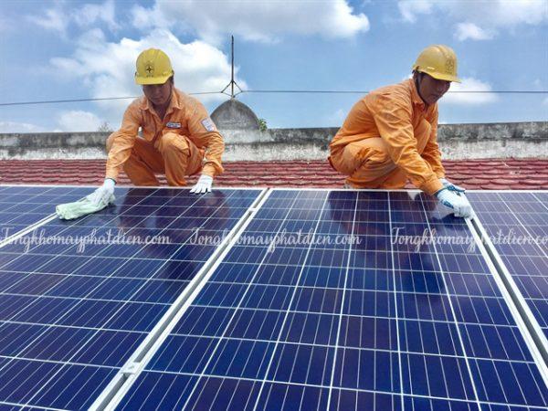 máy phát điện năng lượng mặt trời cho gia đình chi phí bảo trì, tongkhomayphatdien.com