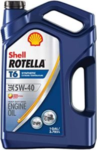 Dầu Shell Rotella cho máy phát điện chạy dầu