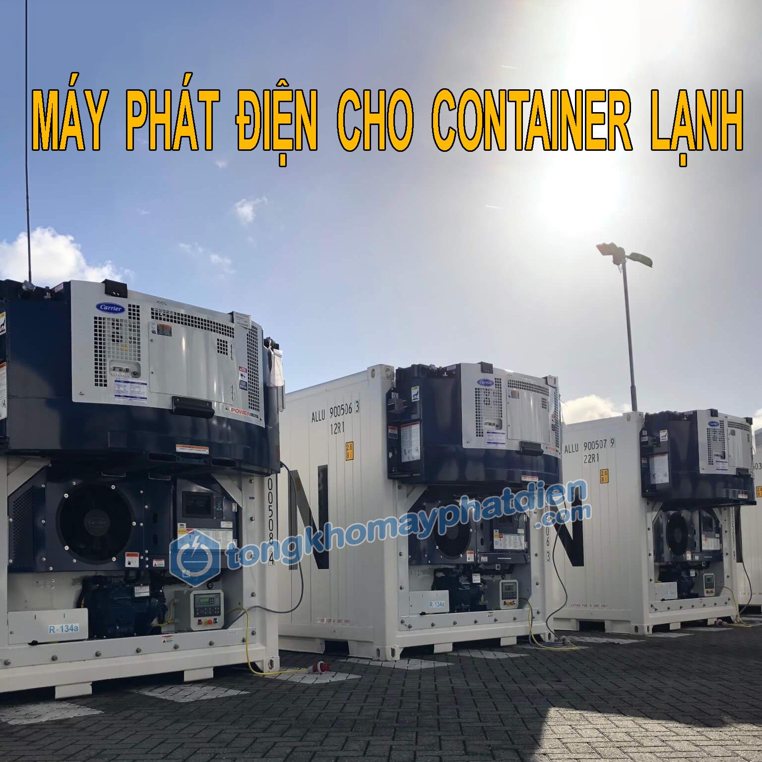 Máy phát điện cho container lạnh