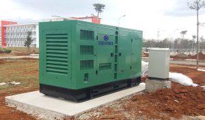 Máy phát điện công trình Cummins