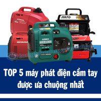 top 5 máy phát điện cầm tay được ưa chuộng nhất, tongkhomayphatdien.com
