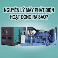 Nguyên lý máy phát điện hoạt động ra sao?