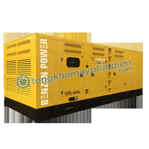 Máy phát điện SDEC 555kVA