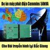 Dự án máy phát điện cummins tại bắc giang