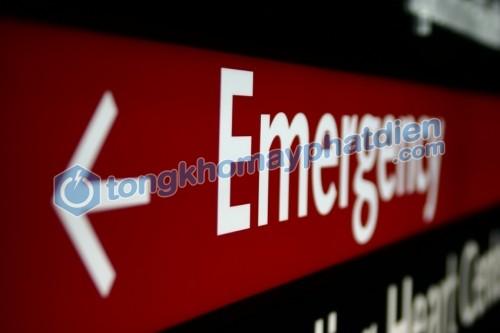 Dự phòng trường hợp khẩn cấp