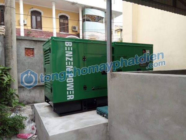 Hoàn thành lắp máy và chạy thử Cummins 125kVA tại Nam Định