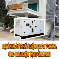 Máy phát điện Kofo 70kVA tại Đồng Nai