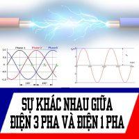 điện 3 pha và 1 pha