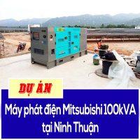 Dự án máy phát điện Misubishi 100kVA tại Ninh Thuận