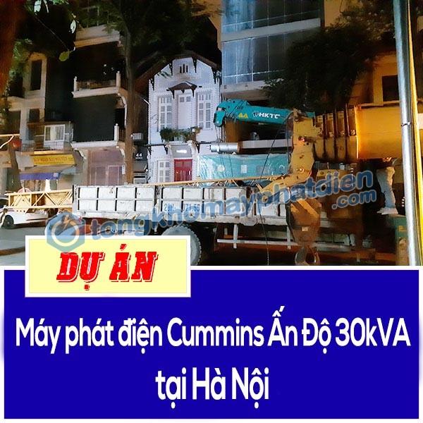 cummins ấn độ 30kva tại Hà Nội