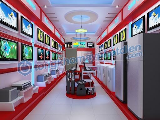 hình ảnh máy phát điện cho showroom