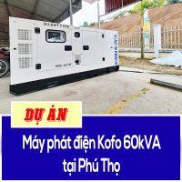 máy phát điện kofo 60kva tại phú thọ