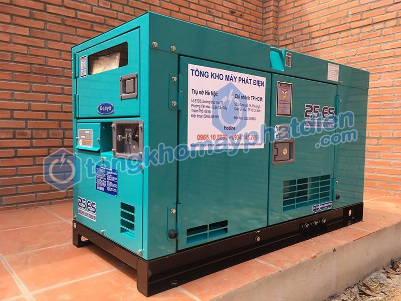 Máy phát điện chống ồn Denyo lắp đặt cho trang trại