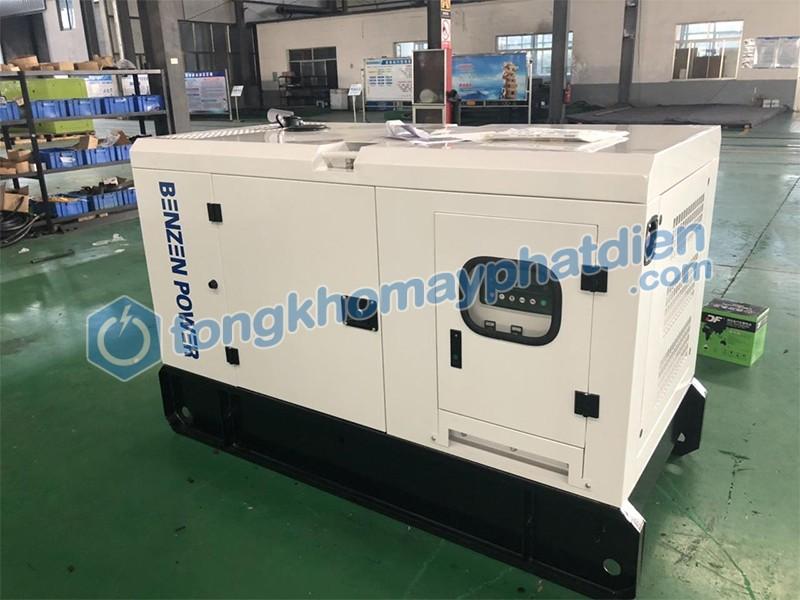 Máy phát điện chống ồn Yanmar - Dự án lắp đặt tại Bình Phước