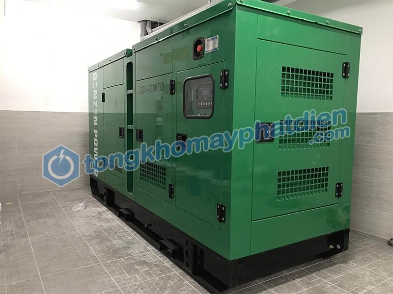 Máy phát điện Cummins Trung Quốc được khách hàng lựa chọn lắp đặt cho khách sạn