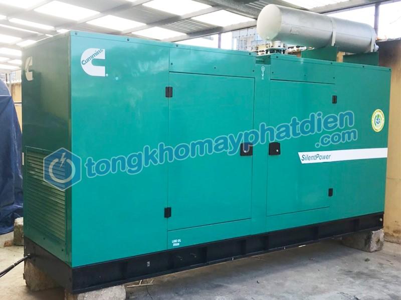 Hoàn thành bàn giao tổ máy phát điện 100kVA Ấn Độ tại Hải Phòng