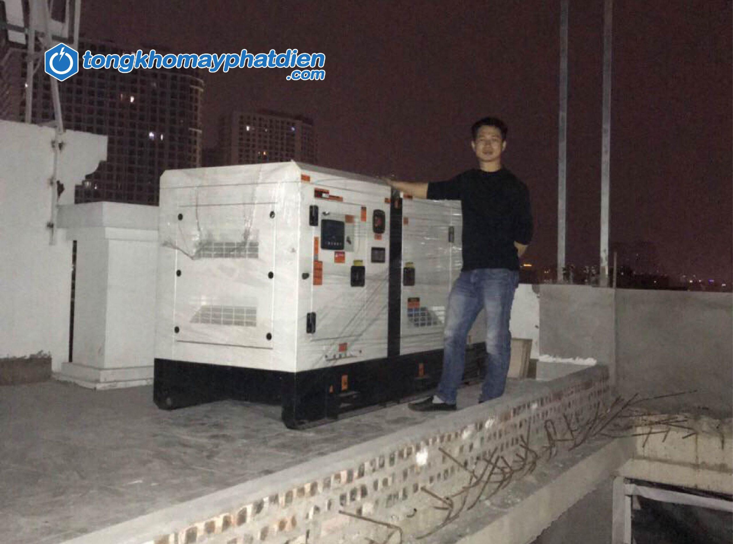 Dự án máy phát điện Cummins 70kVA cho chung cư