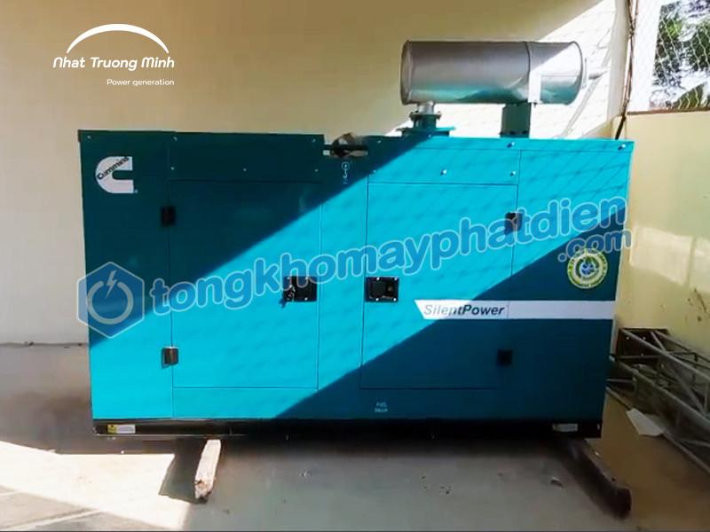 Hoàn thành lắp đặt và bàn giao máy phát điện Cummins Ấn Độ 30kVA cho khách hàng